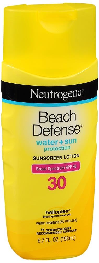 Neutrogena Beach Defense Sunscreen Lotion SPF 30