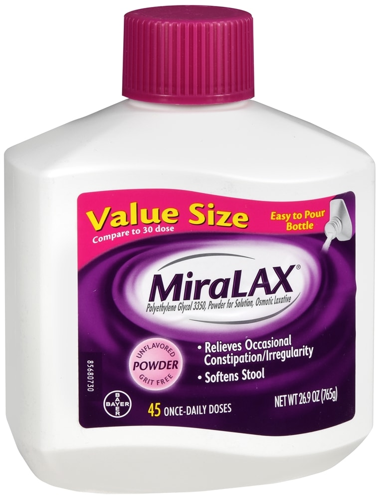 Miralax Laxative Powder for Solution Unflavored
