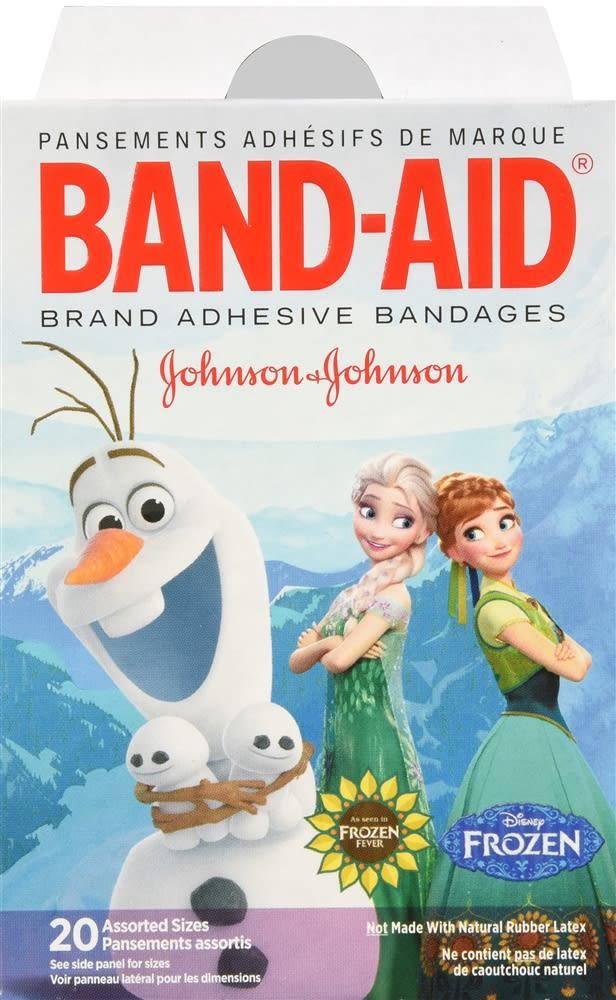 Band-Aid Adhesive Bandages Disney Frozen Assorted Sizes