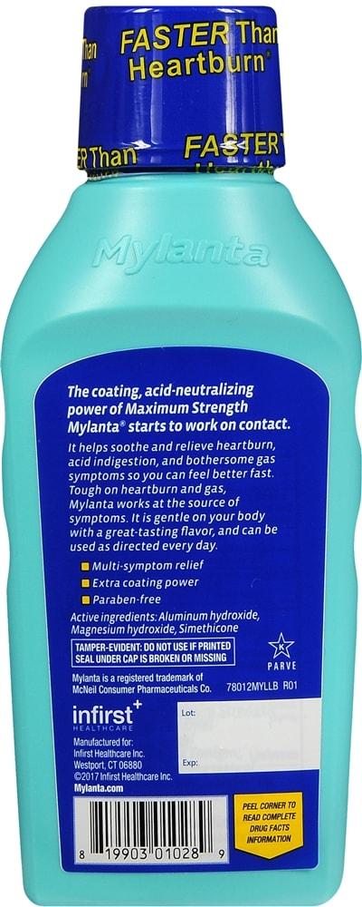 Mylanta Liquid Maximum Strength Classic Flavor