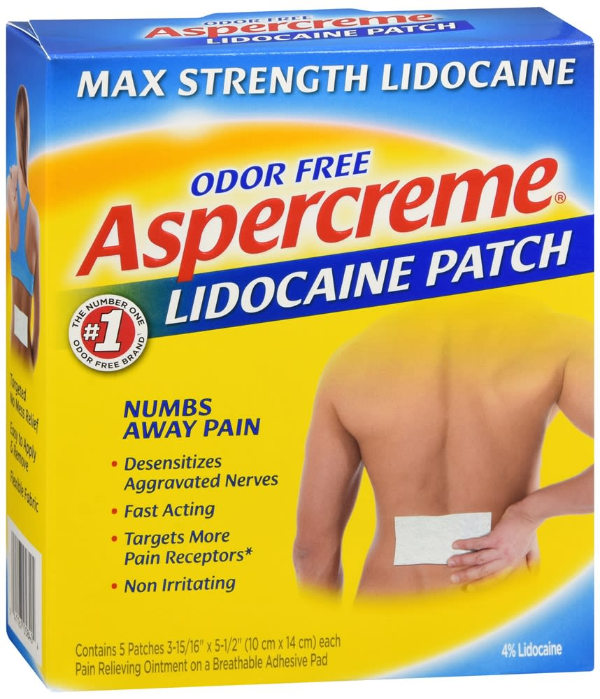 Aspercreme Lidocaine Patches