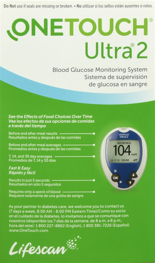 OneTouch Ultra2 Blood Glucose Monitoring System
