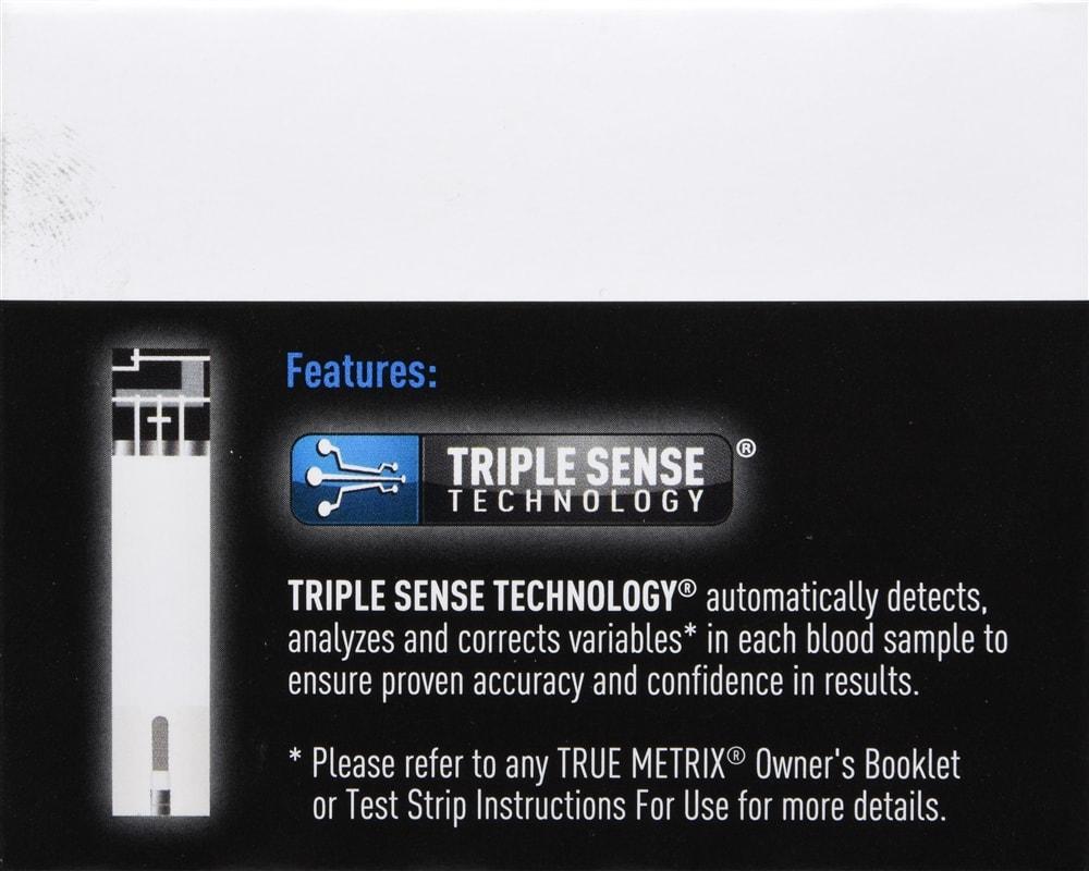 True Metrix Self Monitoring Blood Glucose Test Strips