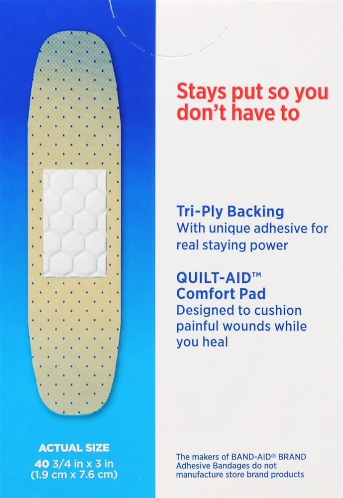 Band-Aid Tru-Stay Sheer Strips Bandages All One Size