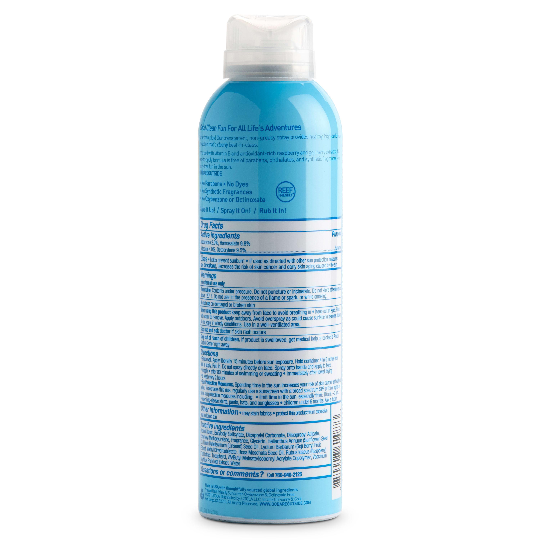 Bare Republic Clearscreen SPF 50 Sunscreen Body Spray - 6 fl oz