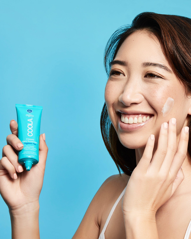 COOLA Classic Face Organic Sunscreen Lotion SPF 50, Fragrance-Free, - 1.7 fl oz