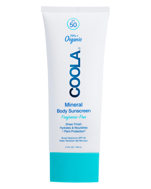COOLA Mineral Body Organic Sunscreen Lotion SPF 50, Fragrance Free - 5 fl oz