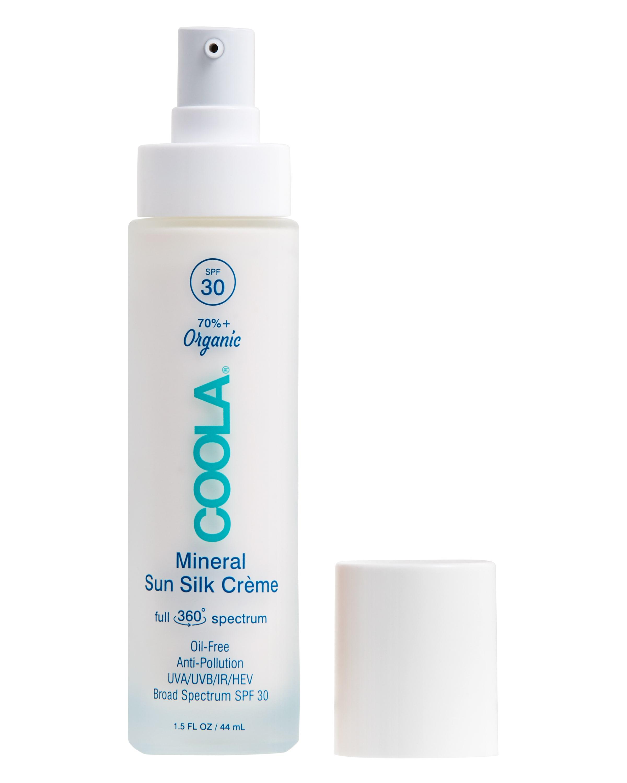 COOLA Full Spectrum 360° Mineral Sun Silk Crème Organic Face Sunscreen, SPF 30 - 1.5 fl oz