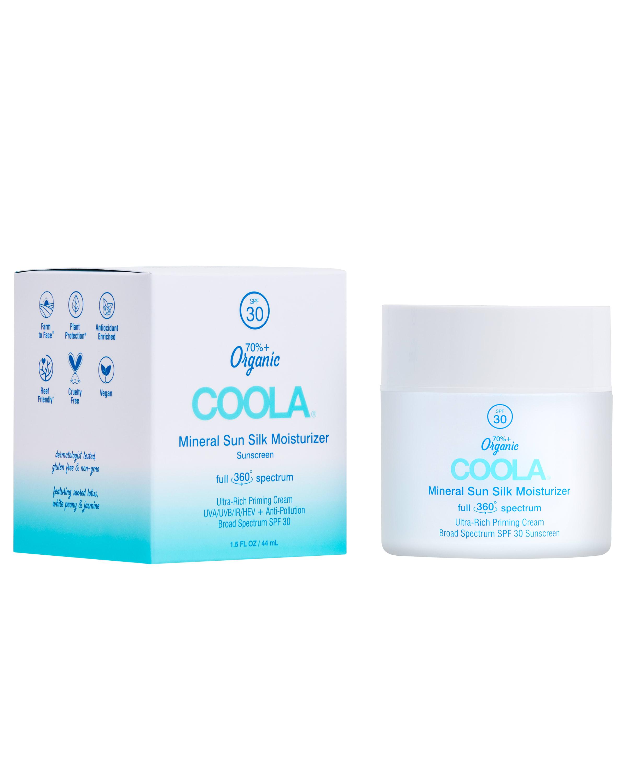 COOLA Full Spectrum 360° Mineral Sun Silk Moisturizer Organic Face Sunscreen, SPF 30 - 1.5 fl oz