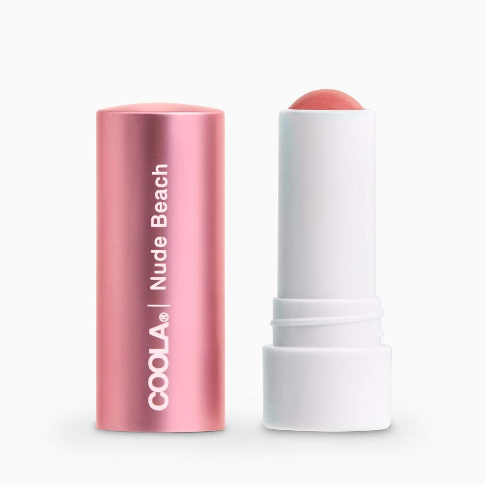 Coola Mineral Liplux Organic Tinted Lip Balm SPF 30, Nude Beach