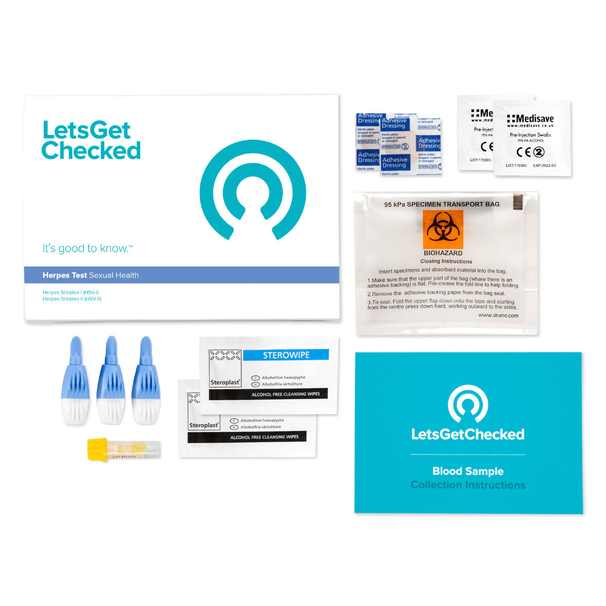 LetsGetChecked Herpes Test