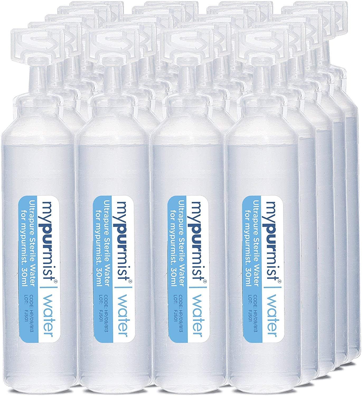 MyPurMist Ultrapure Sterile Water Refills (20 Pack)