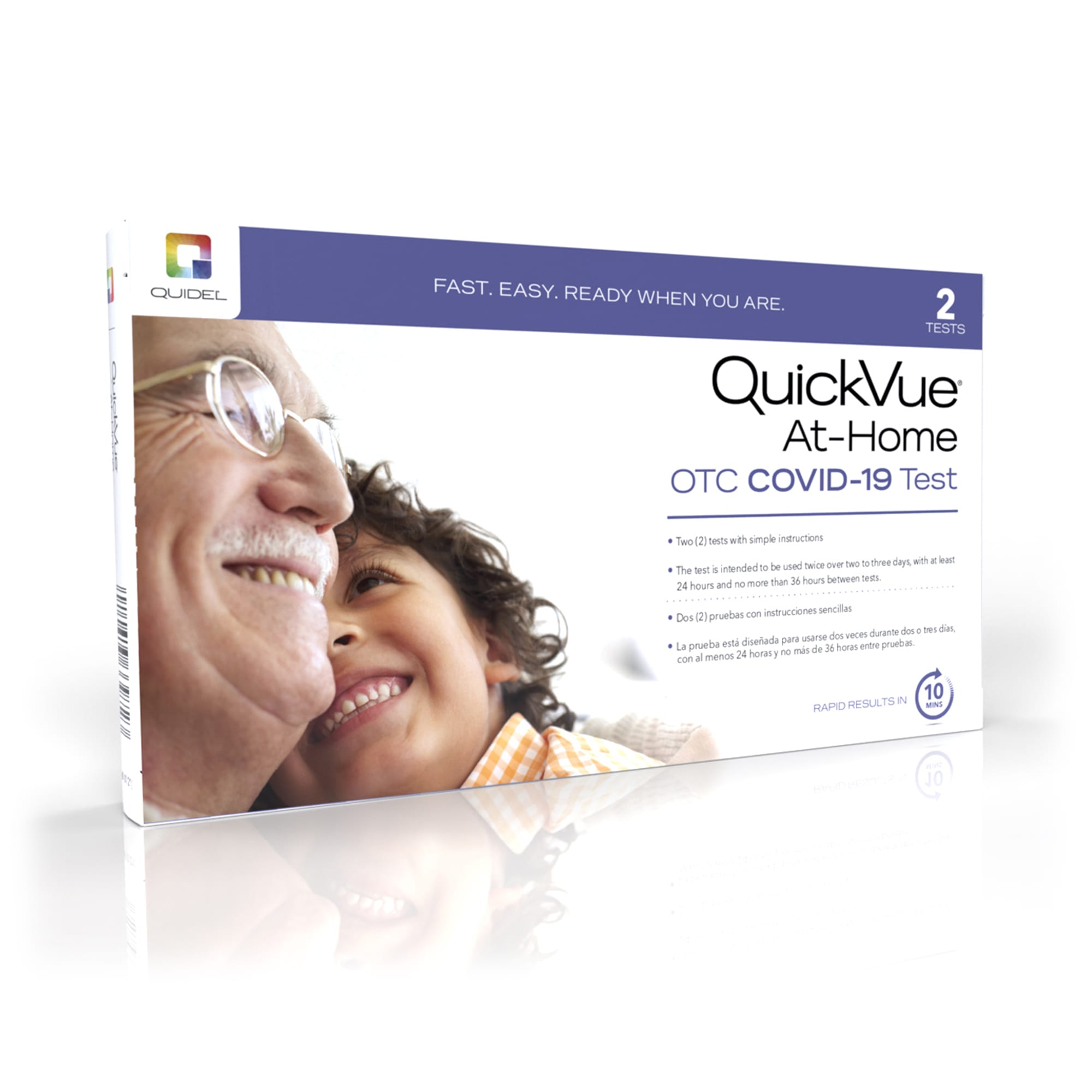 QuickVue At Home OTC COVID-19 Test