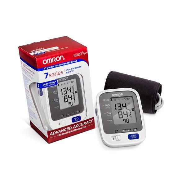 OMRON 7 Series Wireless Bluetooth Upper Arm Blood Pressure Monitor