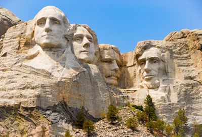 The Black Hill and the Badlands: Mt. Rushmore