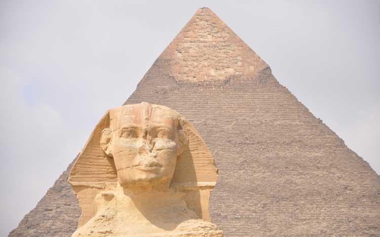 Egypt: Pyramids & Sphinx
