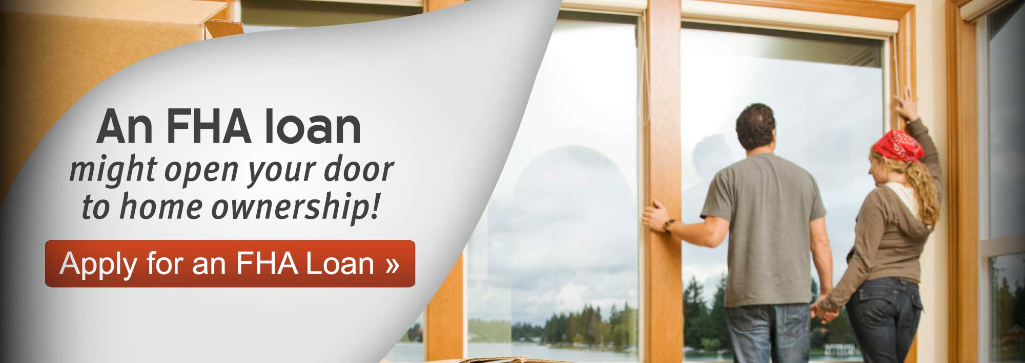 A FHA loan might open your door to home ownership! Apply for an FHA loan.