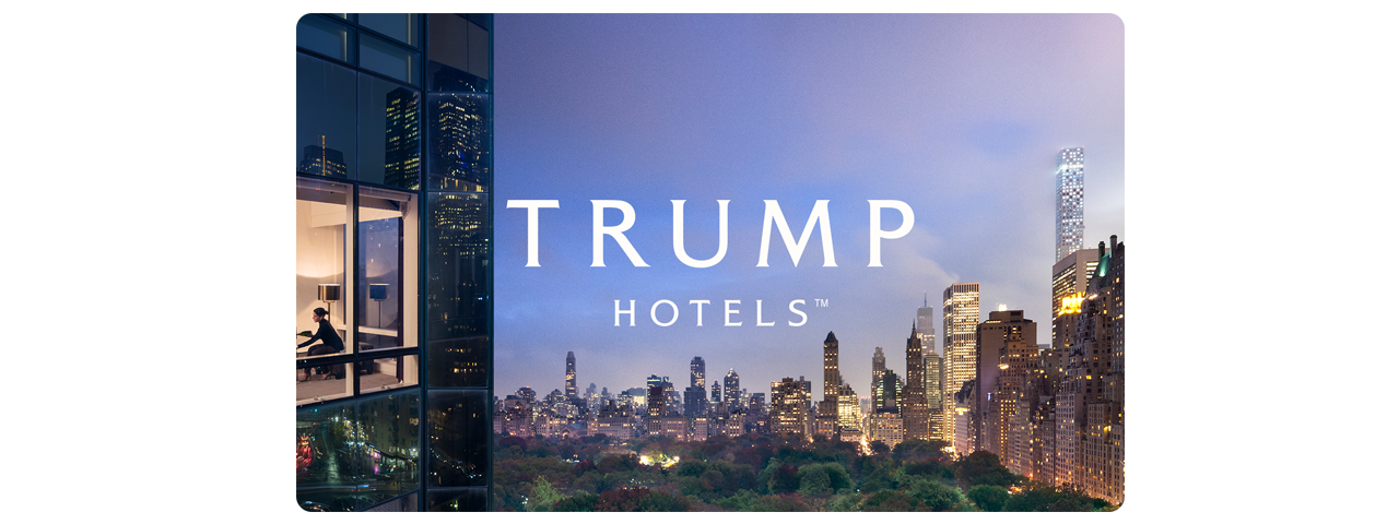 trump hotels gift card