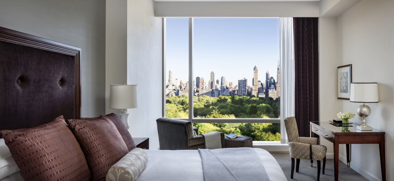 Hotel Room With Central Park View