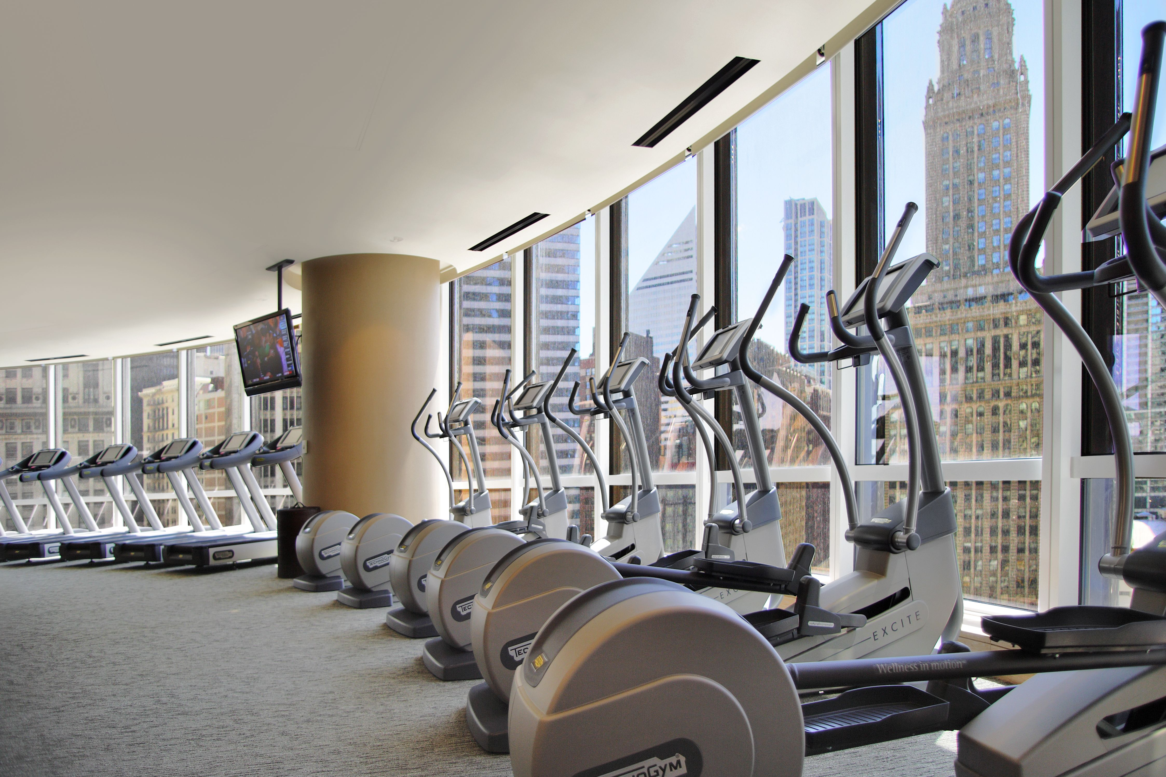 Cardio Equipment Fitness Center