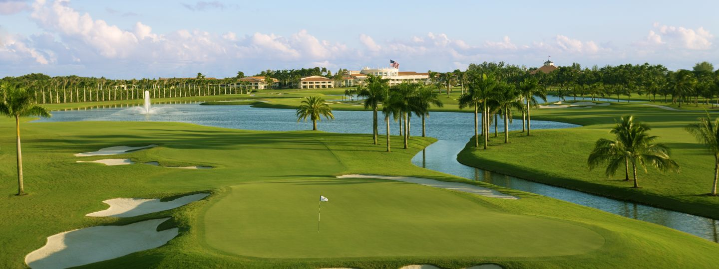 golf courses near miami airport trump doral the blue monster