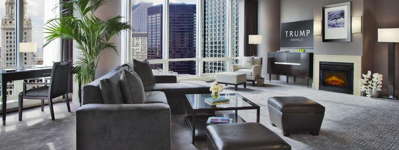 suites in chicago trump chicago grand deluxe suites