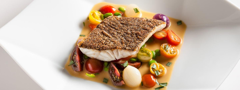 White Fish With Cherry Tomatoes