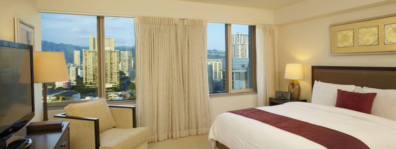 Waikiki Hotel Room