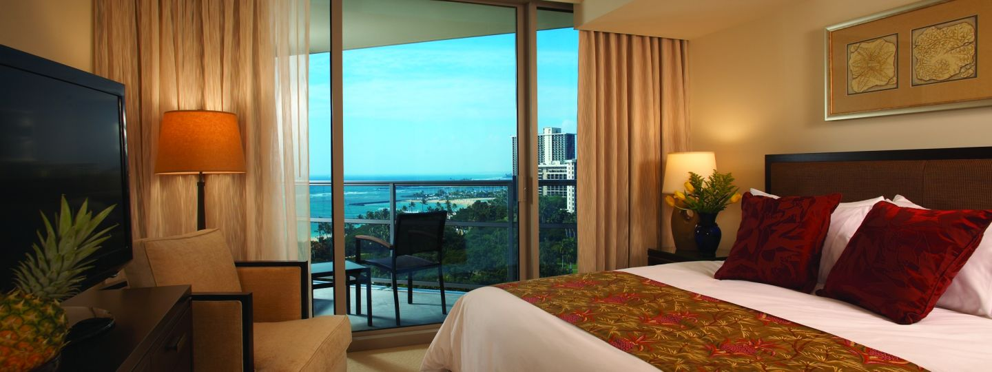 Hotel Room With Ocean Views Balcony