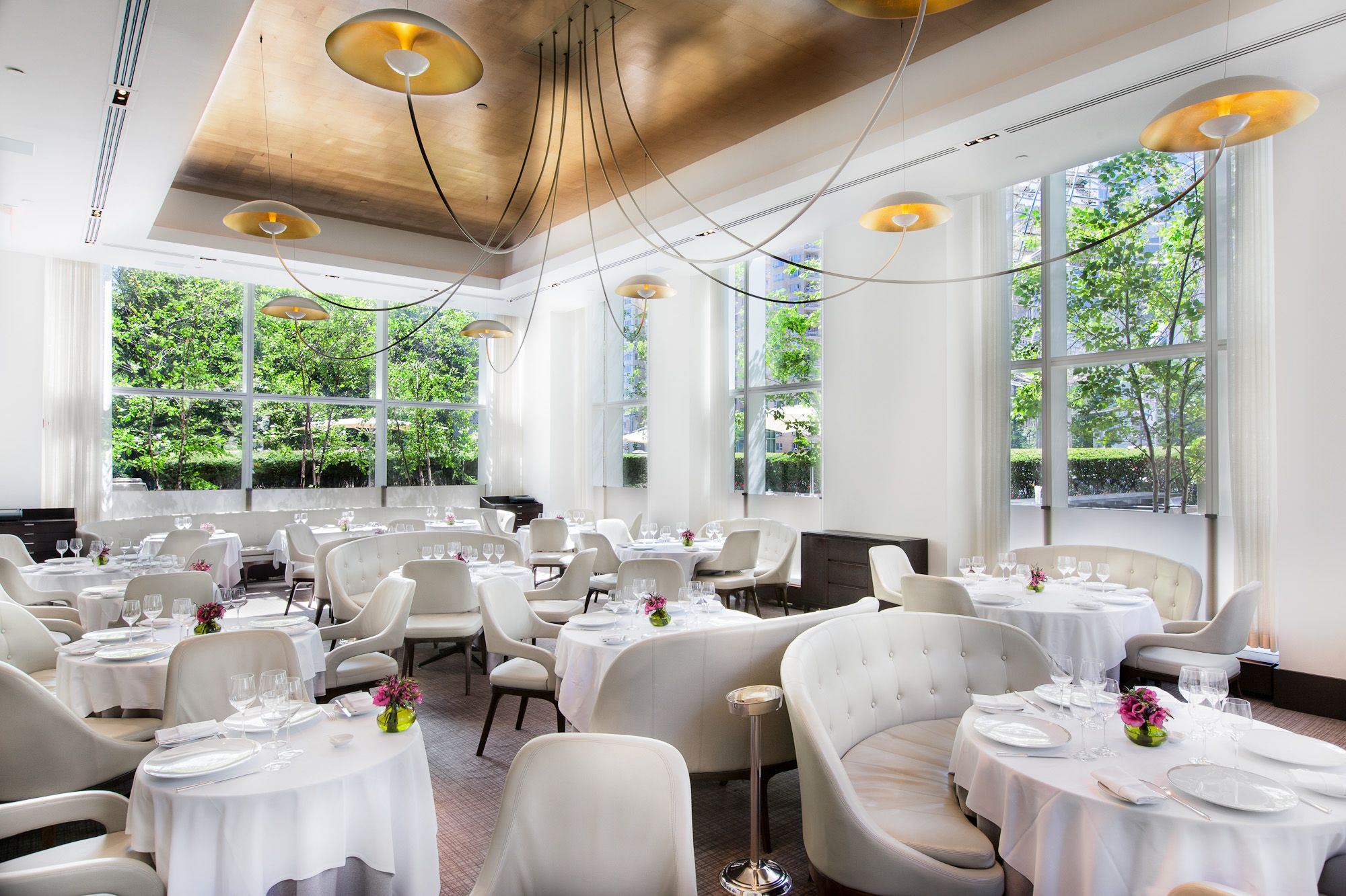 Dining Area At Jean-Georges Restaurant