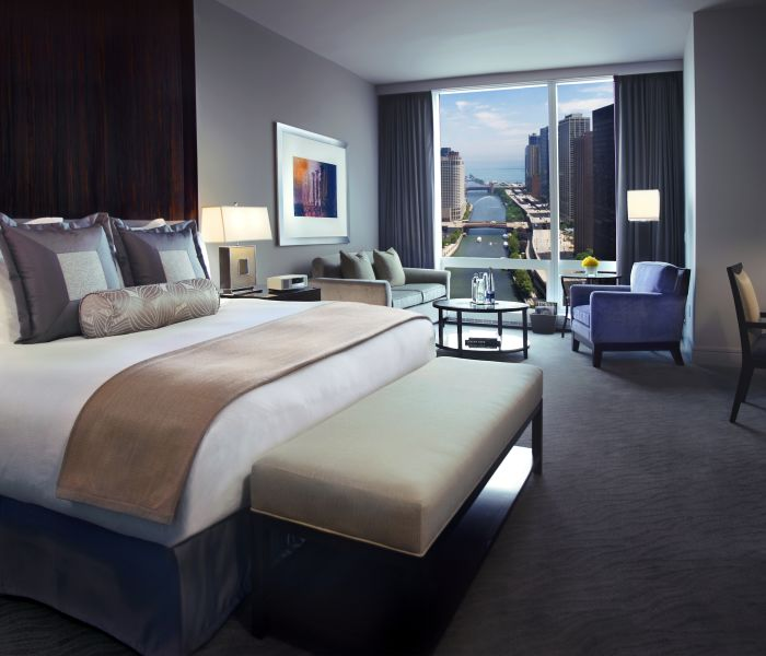 Suites in chicago trump chicago signature suites 2 bedroom suites in chicago Two bedroom hotels in chicago