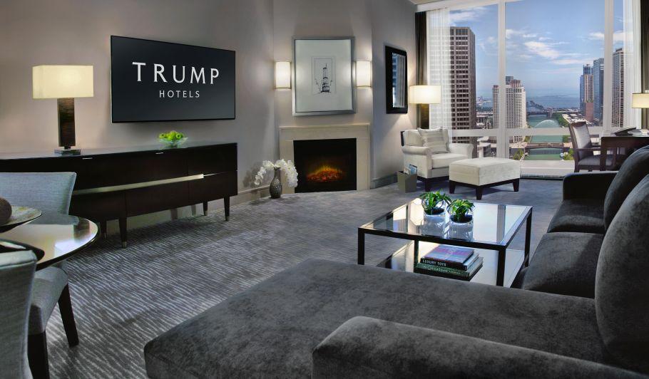 Trump Hotel Suite Living Room