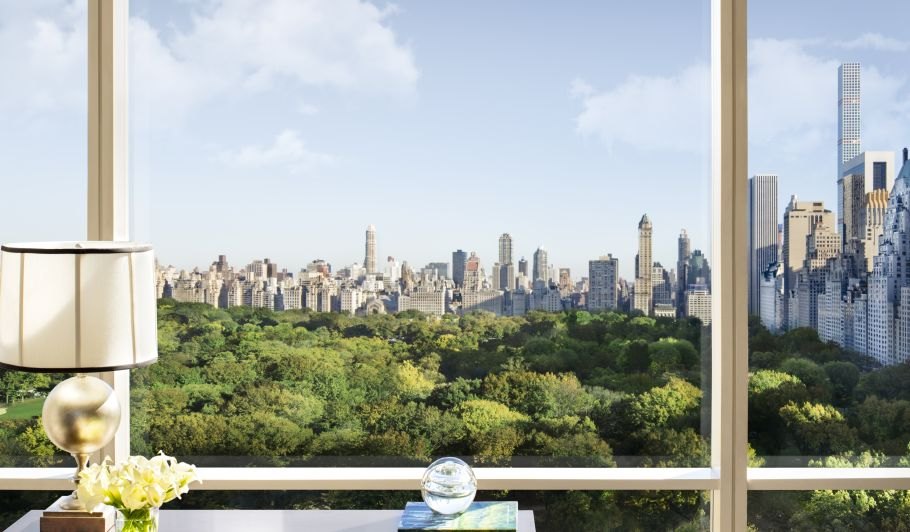 View Of Central Park From Hotel Window