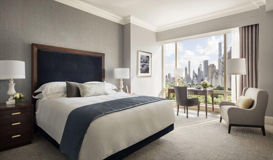 Trump New York guestroom overlooking Central Park