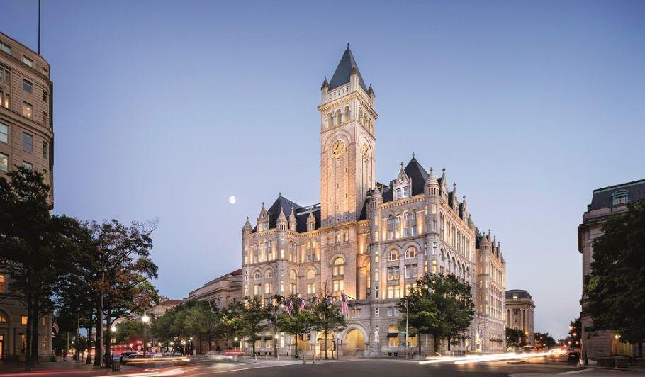 Trump Washington DC Exterior