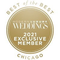 Best of the best 2021 Weddings award