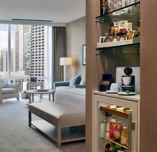 Trump Chicago Mini Bar in Suite