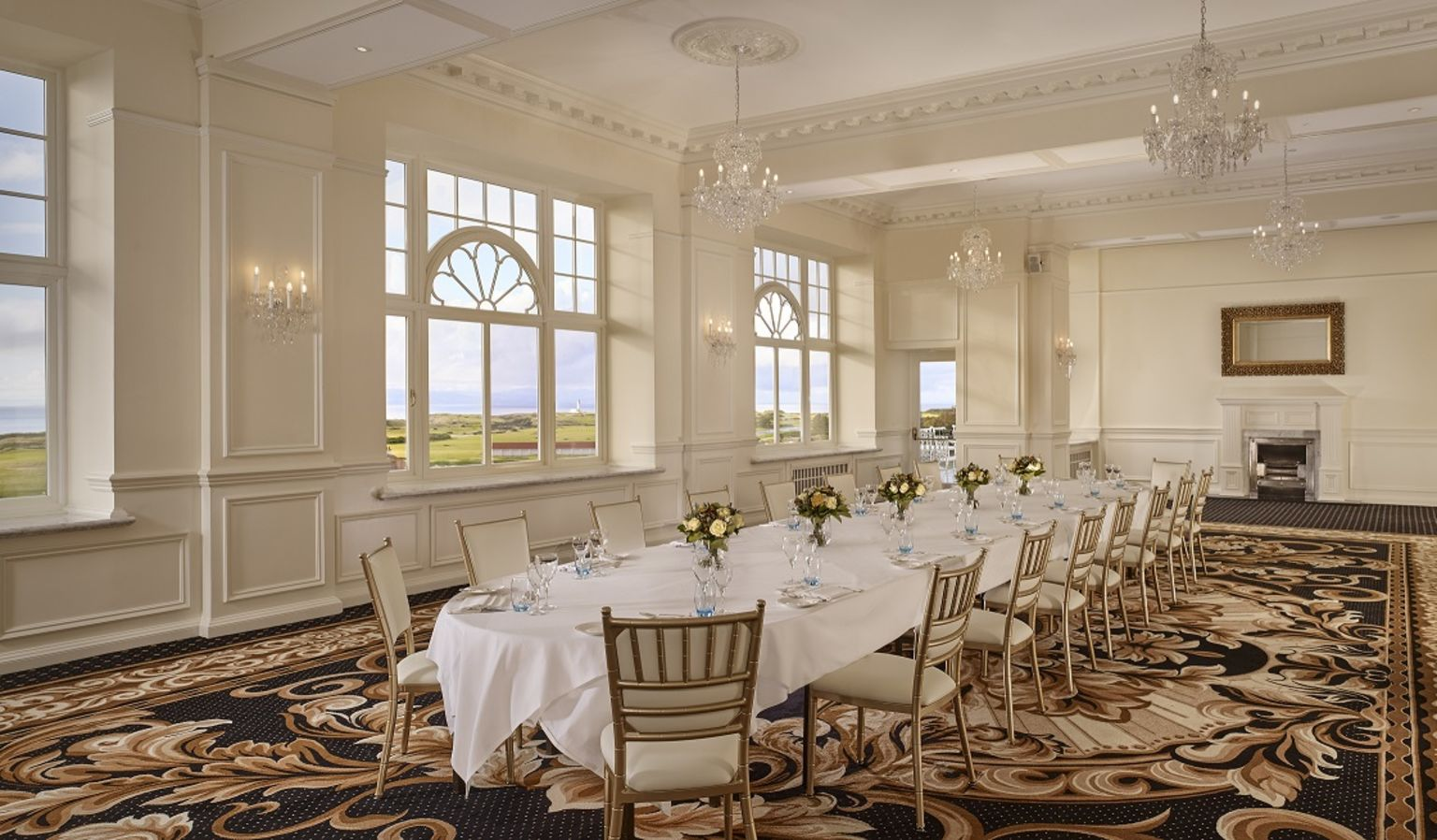 Ailsa Craig Meeting Room with Long Table and Chairs