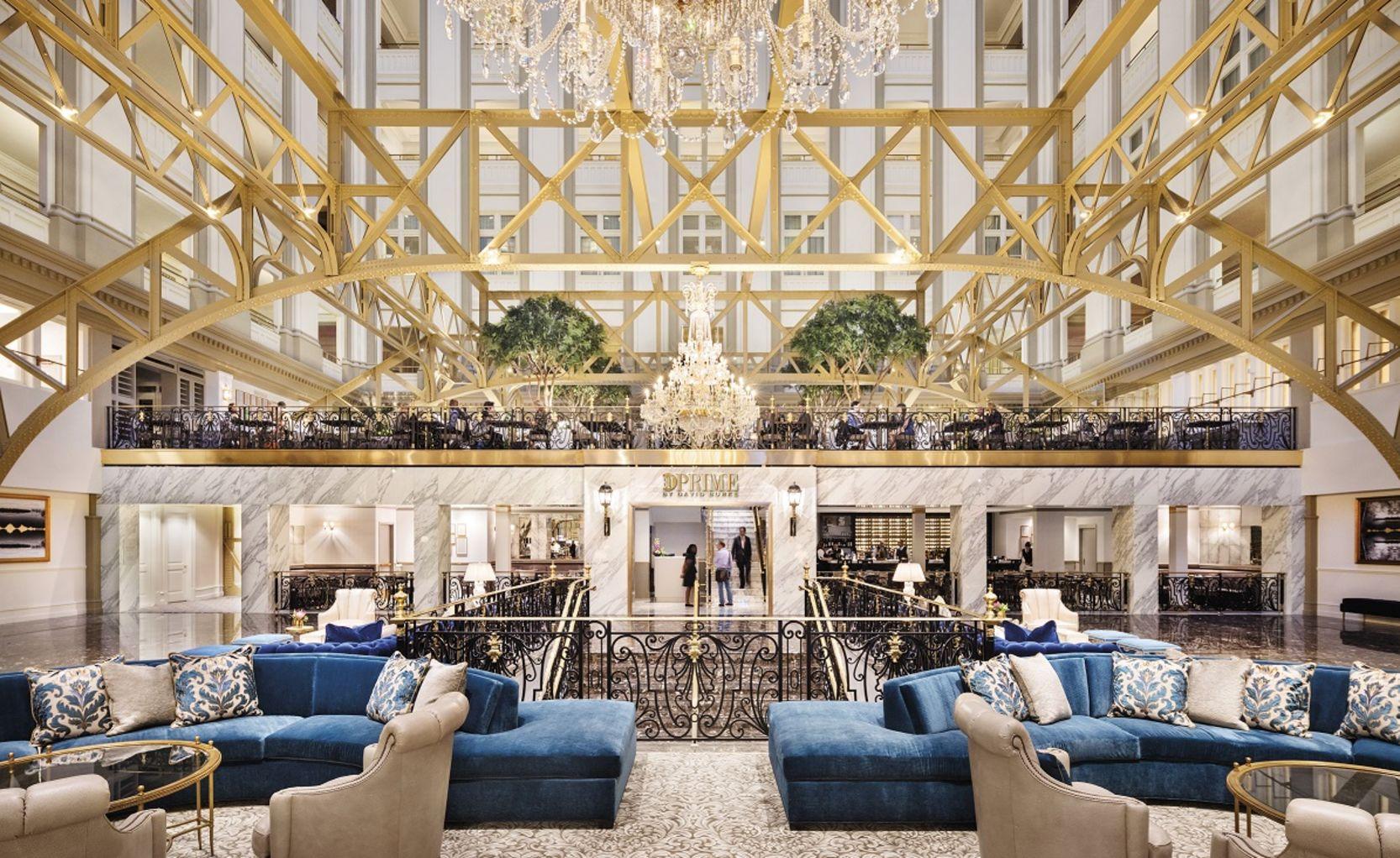 BLT Prime Restaurant Lobby View