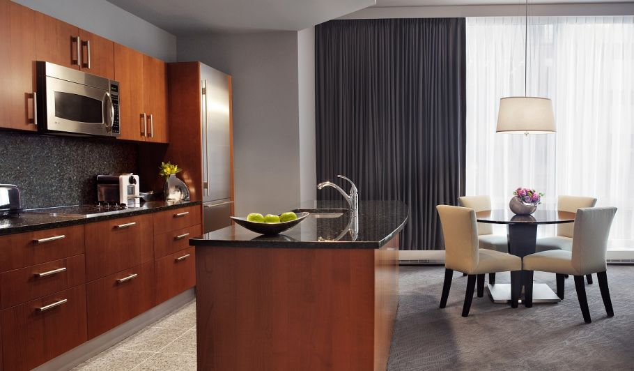 Hotel Suite with Fully Equipped Kitchen