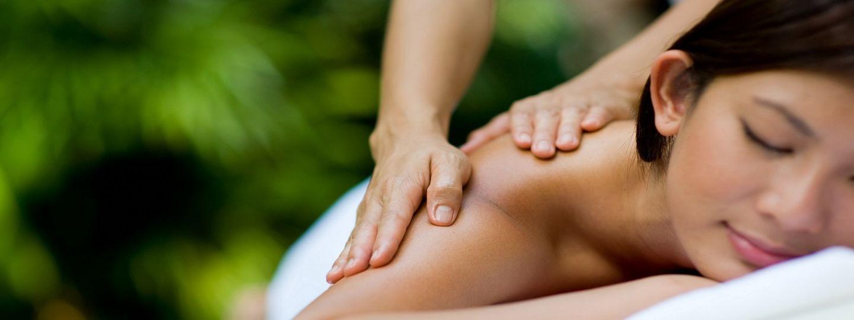 Woman Getting a Massage