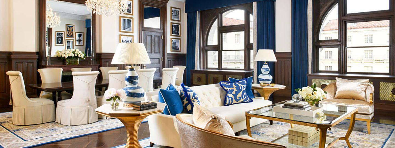 D.C. Presidential Suite Living Area
