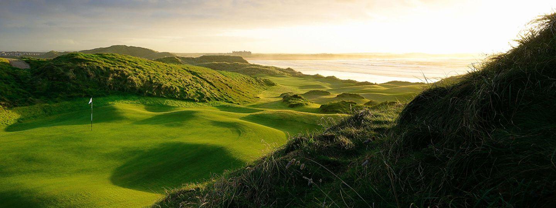 trump Doonbeg Golf Course overlooking ocean