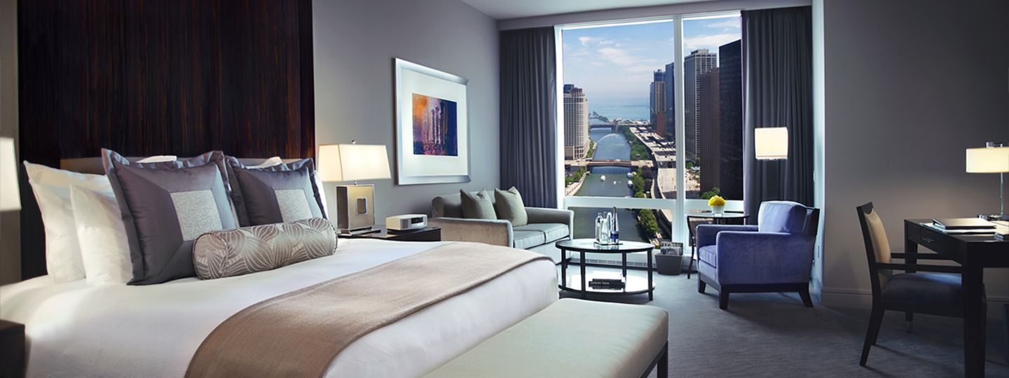 Trump Chicago River View Guest Room