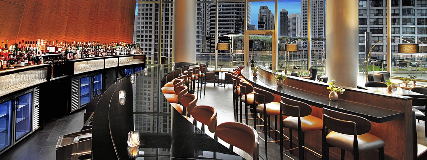 Trump Chicago five star dining Terrace 16