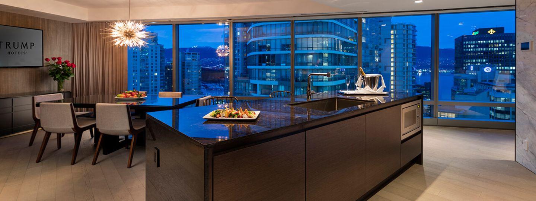 Vancouver Suite Kitchen