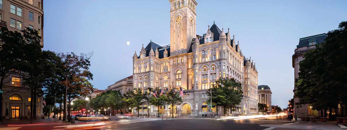 Exterior View of Trump D.C.