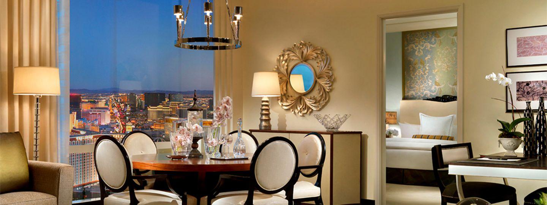 Suite Overlooking the Las Vegas Strip