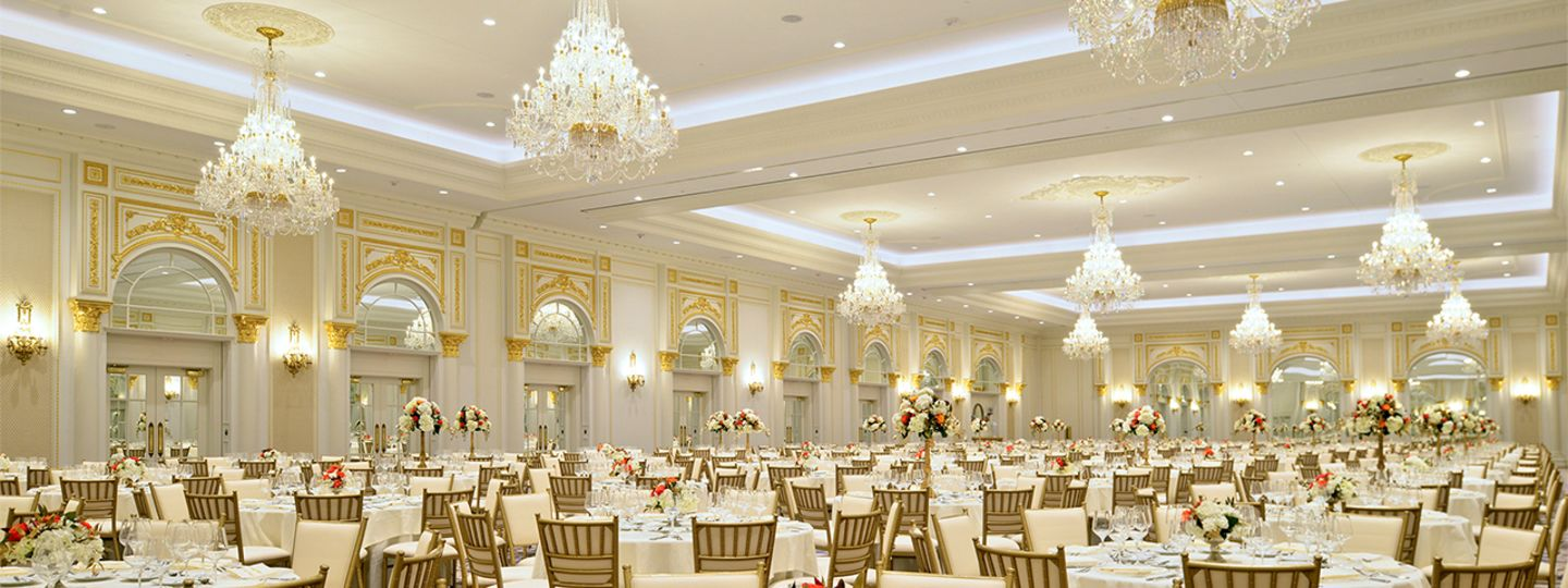 Presidential Ballroom with Tables and Chairs