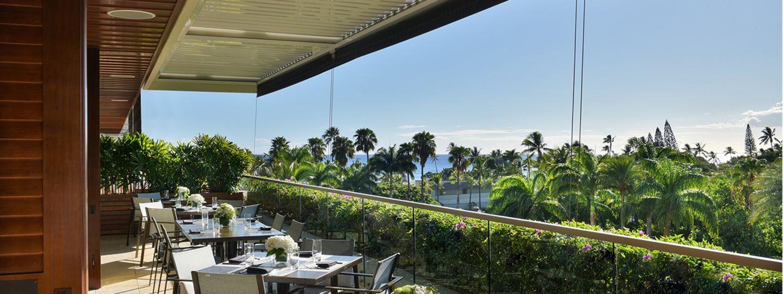 Wai'olu Ocean Cuisine Balcony